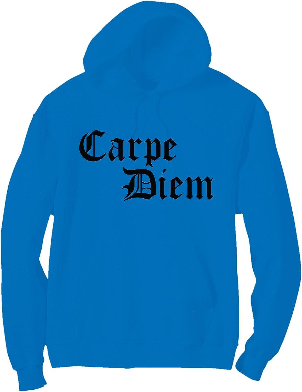 zerogravitee Carpe Diem Bright Neon Adult Pullover Hoodie - 6 Bright Colors