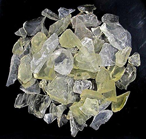 Brasilianit, Lemontrin, feine Rohsteine, Splitter, 100 g.