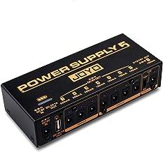 JOYO JP-05 Power Supply, Multi-Channel Mobile Guitar Pedal Power Supply, with 8 DC Outputs 9V/12V/18V & 1 USB Port