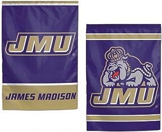 WinCraft NCAA James Madison JMU Dukes Garden Flag, 12.5 x 18 Inches, 2 Sided