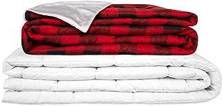 GRAVITY TherapieDecke Gewichtsdecke - Weihnachtsdecke - Schwere Decke für Erwachsene/Jugendliche Für besseren Schlaf, Größe: 135x200 cm, 10 kg