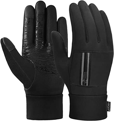 Gregster Running Hat and Gloves Set for Men and Women Windproof and Breathable Outdoor Sports Gloves with Touch Grip