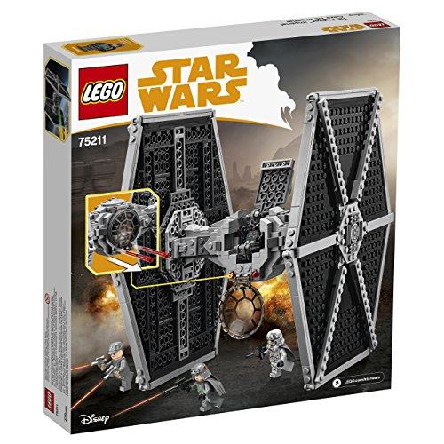 Vaisseau Empire Impériale TIE Fighter Chasseur LEGO Star Wars 75211 - 519 Pièces - 4