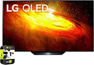 LG OLED65BXPUA 65 inch BX 4K Smart OLED TV with AI ThinQ 2020 Model Bundle with 1 Year Extended Protection Plan