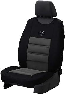 Universal Autositzbezüge Grau für Mercedes Vito W638 BUS 1+1 Vorne Schonbezug