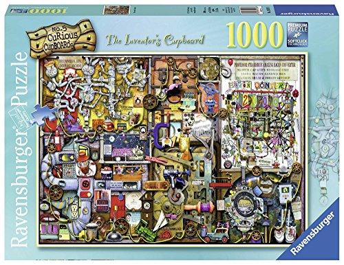 Ravensburger Colin Thompson - The Inventor's Cupboard, Rompecabezas de 1000 Piezas, 70 x 50 cm 195978