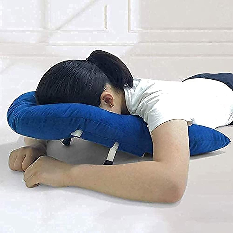 Almohada boca abajo después de la cirugía ocular, almohada de apoyo para los hombros Pacientes Retina Almohada acostada Agujero macular y desprendimiento de retina Después de la cirugía Dormir