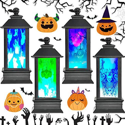 Decoración de Halloween BESTZY 4pcs decoracion jardin exterior