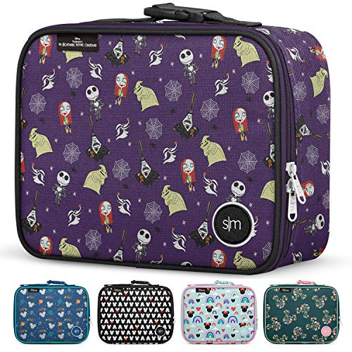 Simple Modern Kids Lunch Bag - Insulated Reusable Meal Container Box for Girls, Boys, Women, Men, Small Hadley, Disney: Nightmare Before Christmas
