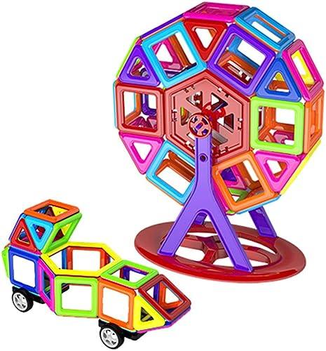 YTBLF Mini Pièce Magnétique Blocs De Construction Jouets éducatifs Bricolage Jouets épeler Insertion De Blocs De Construction Jouets De La Petite Enfance Intelligence Jouets