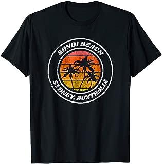 TIANLANGHB Bondi Beach T Shirt Sydney Australia Souvenir Tee