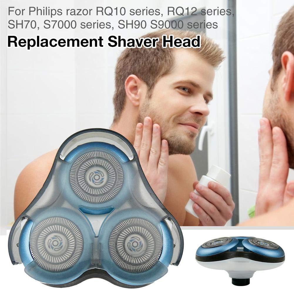 getherad Cabezal De Afeitadora De Repuesto para Philips Razor SH70 SH90 S7000 S7310 S7530 Etc. Pieza De Repuesto para Afeitadora Eléctrica: Amazon.es: Hogar