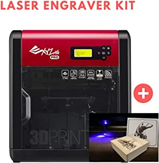[Laser Engraver Kit] [Open Filament] da Vinci 1.0 Pro. Wireless 3D Printer - 7.8
