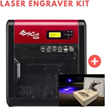 [Laser Engraver Kit] [Open Filament] da Vinci 1.0 Pro. Wireless 3D Printer - 7.8