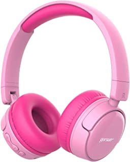 Cuffie Bluetooth per bambini gorsun con regolatore di volume