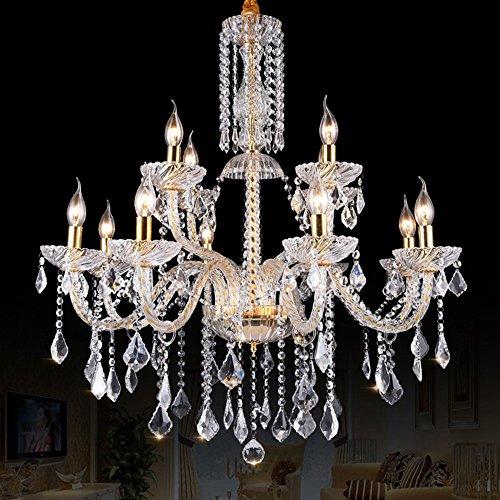 5151BuyWorld lamp kristallen kroonluchter moderne verlichting glazen kroonluchter luxe helder lamp hanglamp kroonluchter kristal lamp hotel verlichting topkwaliteit