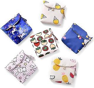 AXSWER Portaoggetti per Asciugamani da Donna Borsa per assorbenti igienici Borsa per tovaglioli Organizer Porta Carte per ...
