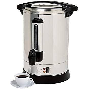 Focus Foodservice Crown Select 100-Cup Maker 100 Cup Coffee Urn, Large, Multiple