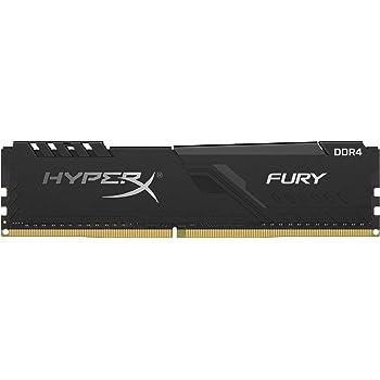 キングストン Kingston デスクトップPC用メモリ DDR4 2666MHz 8GBx2枚 HyperX FURY CL16 HX426C16FB3K2/16 永久保証
