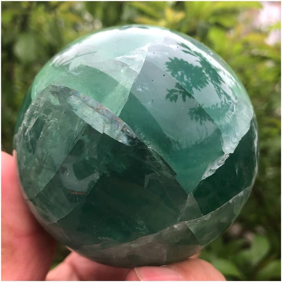 sousy Very Beautiful High quality new Natural High quality Green Reiki R Fluorite Healing Ball