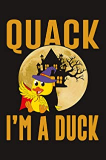 Quack I'm A Duck: Funny Cute Duck Farm Animals Composition Notebook 110 pages | 6x9 |5x5 mm Graph Paper | Perfect As Math ...