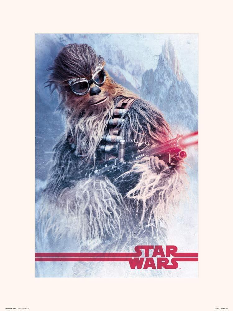 Erik Star Wars Classic 40th Anniversary Villians Print 30 x 40 cm