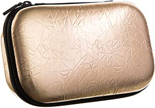 ZIPIT Metallic Pencil Box/Pencil Case/Storage Box, Rose Gold