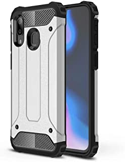 PICKQIU Case for HTC U11 Eyes, Heavy Duty Case,Shockproof Tough Armour Military Metal Case 360 Full Body Protective Case Cover for HTC U11 Eyes Smart phone -Silver