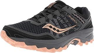 Saucony Women's Excursion TR12 Sneaker, Grey/Peach, 7.5 M US