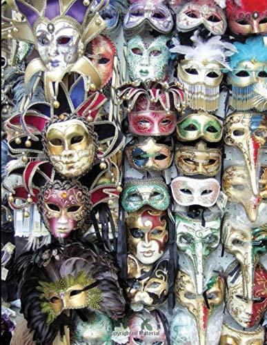 Venice carnival 2020: Carnevale Di Venezia Notebook | Carnival Of Venice | Photography Of Moretta Venetian Mask At Venice Carnival Journal for ... Size 8.5