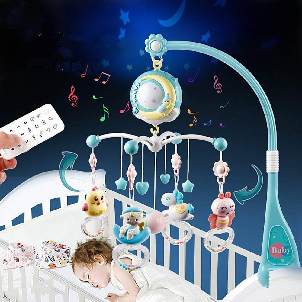 Baby Musical Crib Mobile Projection SALENEW Price reduction very popular Light Night and H Function