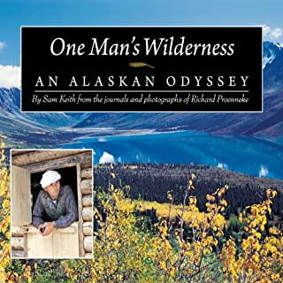 One Man's Wilderness audiobook cover art
