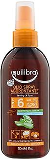 Equilibra Olio Spray Abbronzante Spf 6, 150 ml