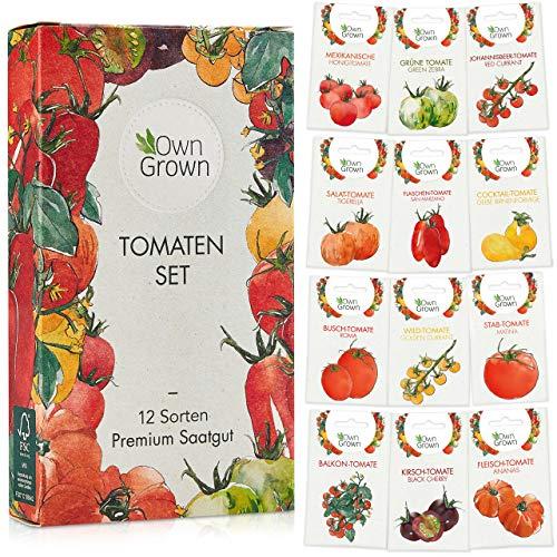 Tomaten Samen Set mit 12 Sorten...