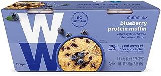 WW Blueberry Muffin Mug Cake - Protein Mug Cake, 3 SmartPoints - 1 Box (2 Count Total) - Weight Watchers Reimagined