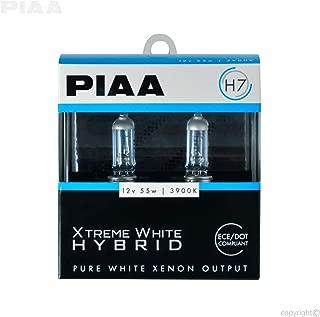 PIAA 23-10107 H7 Xtreme White Hybrid Bulb, 3900K-12V 55W-Twin Pack, 2 Pack