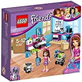LEGO Friends - Laboratorio Creativo de Olivia, Set de Contrucción, Incluye un Control Remoto y Herramientas de Juguete (41307)