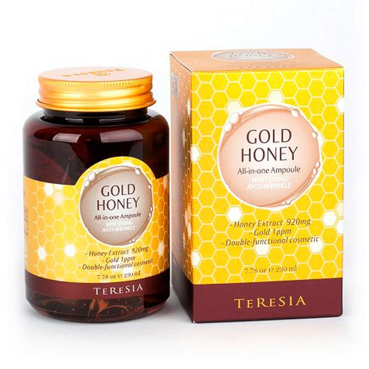 余暇廊下申請者[(テルシア)TERESIA] テルシア·ゴールドハニー大容量 230ml オールインワン·アンプル シワ,美白二重機能性化粧品