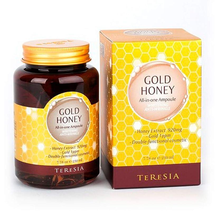 用量局ピア[(テルシア)TERESIA] テルシア·ゴールドハニー大容量 230ml オールインワン·アンプル シワ,美白二重機能性化粧品