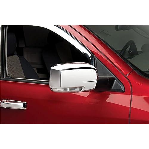 For 09-12 Dodge Ram 1500//2500//3500 Chrome Full Mirror Cover W//Signal Open