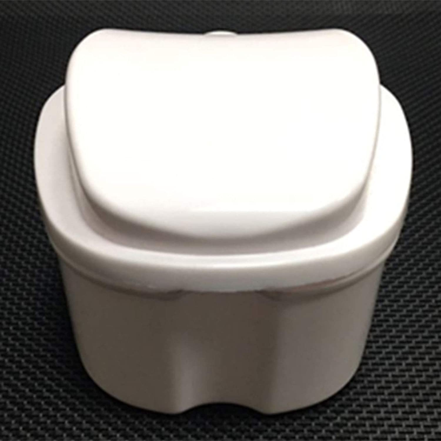Denture Opening large release sale Case Cup with False Strainer Bath Box San Jose Mall