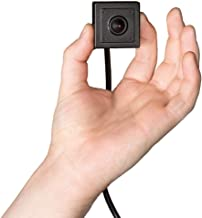 HDView Hidden Camera Mini Pinhole Spy Camera, 2.4MP 4-in-1 (TVI/AHD/CVI/960H), 3.7mm Pinhole Lens HD 1080P, Indoor, Hide Behind Wall