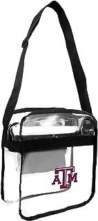 Littlearth NCAA Unisex NCAA Clear Carryall Crossbody Bag