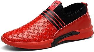 bcb4fd33a55da5 LFEU Chaussure de Sport Homme Course Pour Multisport Outdoor sans Lacet  Chaussure Paresseux Tendance Léger 39