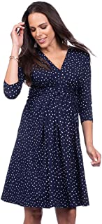 Best seraphine navy pleated dress Reviews