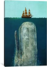 iCanvasART 1 Piece The Whale Canvas Print by Terry Fan, 18 x 12 x 0.75-Inch