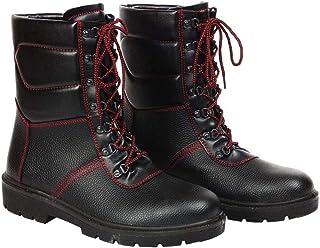 Reis BRWINTER47 Chaussures de sécurité Noir/rouge 47