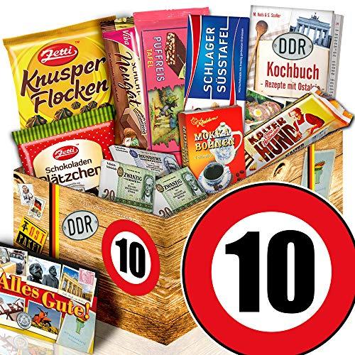 10. Hochzeitstag / DDR Schokolade Set / Geschenk zum 10. Hochzeitstag Freundin