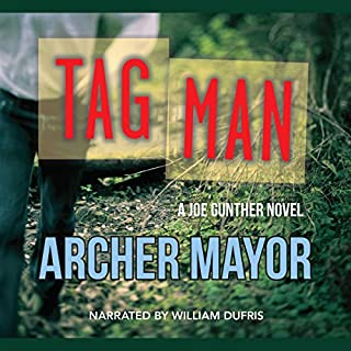 Tag Man audiobook cover art