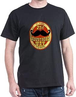 CafePress Moustache Wax Classic 100% Cotton T-Shirt